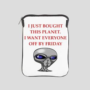 alien invasion iPad Sleeve