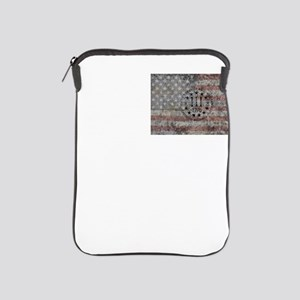 3 percenter flag iPad Sleeve