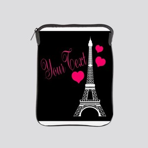 Paris France Eiffel Tower iPad Sleeve