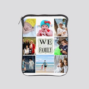 Custom Family Photo Collage iPad Sleeve