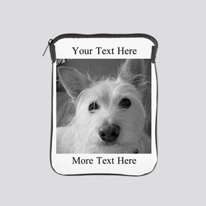 Your Text and Your Photo Here iPad Sleeve