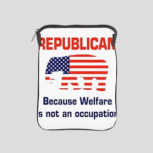 welfareoccupation iPad Sleeve