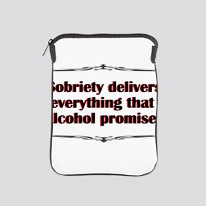 sobriety-delivers iPad Sleeve