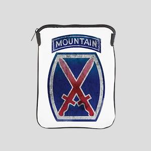 10th Mountain Division - Clim iPad Sleeve