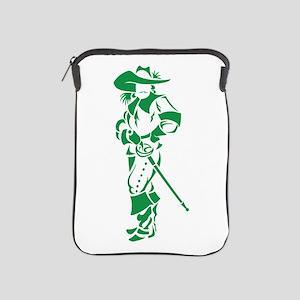 Green Musketeer iPad Sleeve