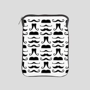 Mustache Print iPad Sleeve
