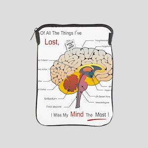 I miss my mind iPad Sleeve