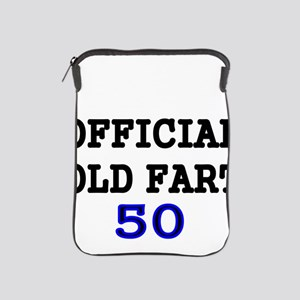 OFFICIAL OLD FART 50 iPad Sleeve