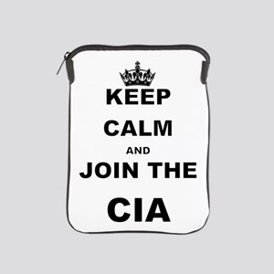 KEEP CALM AND JOIN THE CIA iPad Sleeve