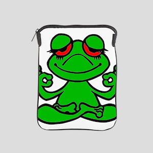 Frog Lotus iPad Sleeve