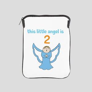 little angel custom age iPad Sleeve