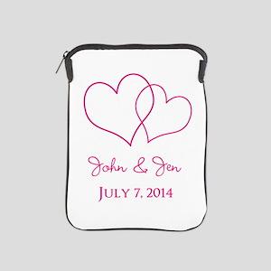 Custom Wedding Favor iPad Sleeve