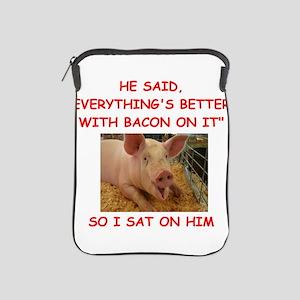 pig humor iPad Sleeve
