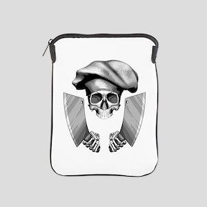Chef skull: v1 iPad Sleeve