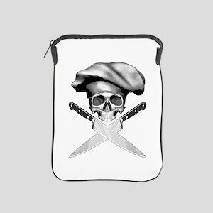 Chef skull: v2 iPad Sleeve