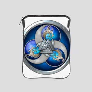 Blue Norse Triple Dragons iPad Sleeve