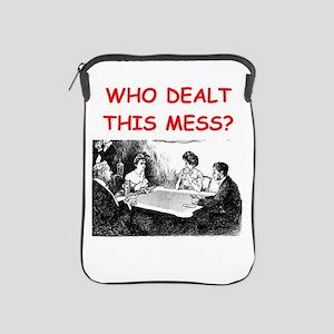 funny bridge joke on gifts and t-shirts iPad Sleev