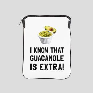 Guacamole Is Extra iPad Sleeve