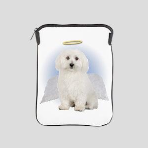 Angel Bichon Frise iPad Sleeve