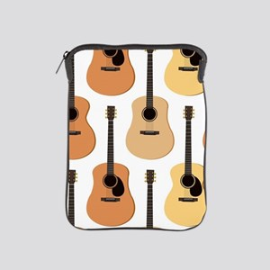 Acoustic Guitars Pattern iPad Sleeve