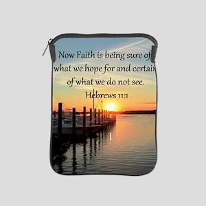HEBREWS 11:1 iPad Sleeve