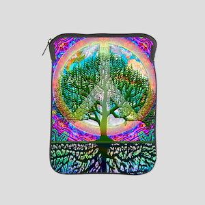 Tree of Life World Peace iPad Sleeve