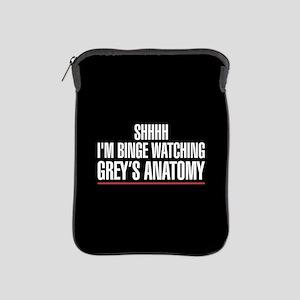 Grey's Anatomy Binge Watching iPad Sleeve
