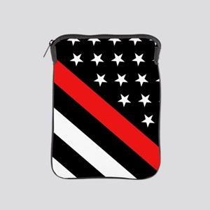 Firefighter Flag: Thin Red Line iPad Sleeve
