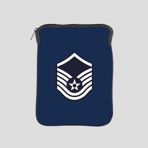 USAF: MSgt E-7 (Blue) iPad Sleeve