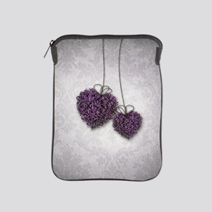 Purple Hearts iPad Sleeve