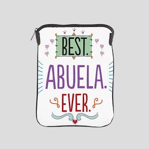 Best Abuela Ever iPad Sleeve