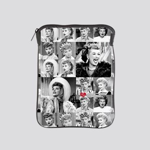 I Love Lucy Face Collage iPad Sleeve