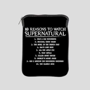 Supernatural Reasons iPad Sleeve
