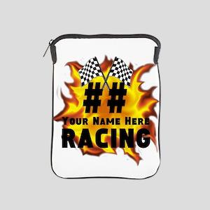 Flaming Racing iPad Sleeve