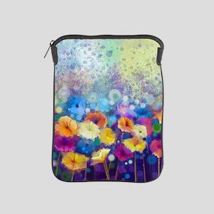 Floral Painting iPad Sleeve