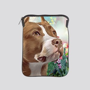 Pit Bull Painting iPad Sleeve
