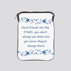 Good Friends are like Stars Inspirational Quote iP