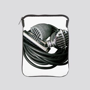 Harp and microphones iPad Sleeve