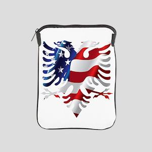 Albanian American Eagle iPad Sleeve