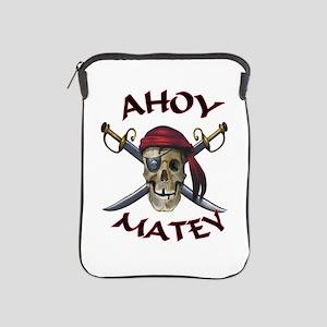 Pirate Skull Ahoy iPad Sleeve