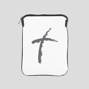 Contemporary Cross iPad Sleeve