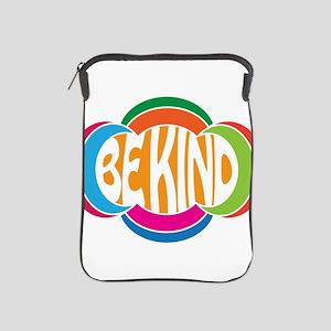 Be Good Be Kind Retro Design iPad Sleeve