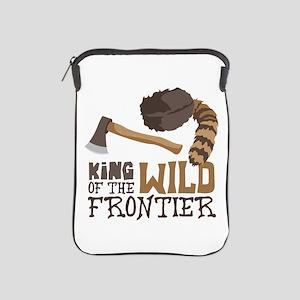 King of the Wild Frontier iPad Sleeve
