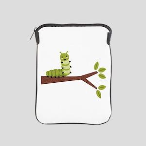 Caterpillar on Twig iPad Sleeve