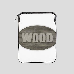 Wood iPad Sleeve