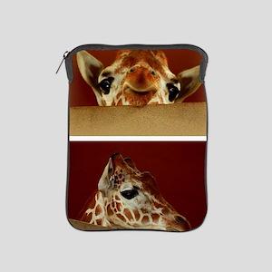 Giraffe Collage iPad Sleeve