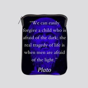 We Can Easily Forgive A Child - Plato iPad Sleeve
