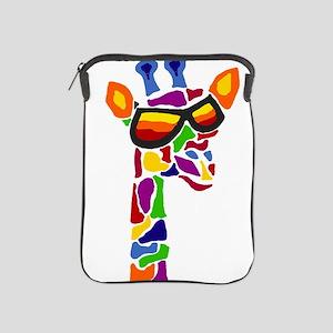 Giraffe in Sunglasses iPad Sleeve