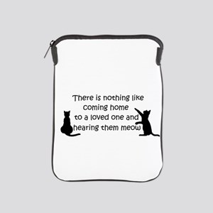 Coming Home to aCat iPad Sleeve