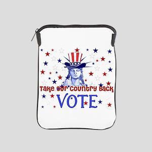 Vote Democratic iPad Sleeve